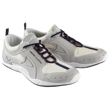 Chaussures de pont Henri Lloyd Octogrip Monobloc, Blanc