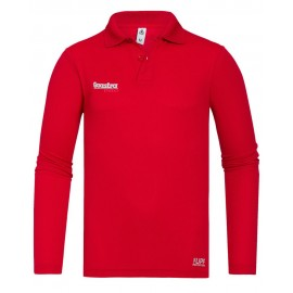 Polo Riva Tech manches longues Gaastra Pro, Rouge