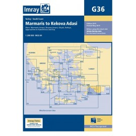 Carte Imray Turquie: Marmaris to Kekova Adasi G36