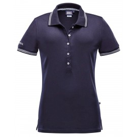 Polo Marine Pool Dragon, 100% coton, pour femme, navy