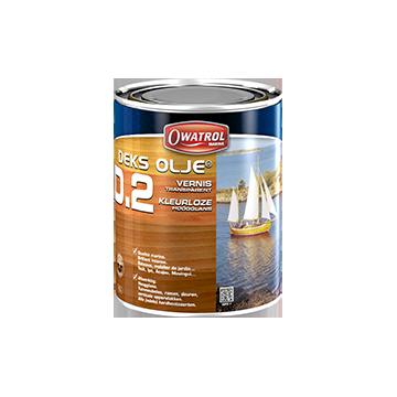 Owatrol DEKS OLJE D2 - Vernis marine très souple pour bois gras (1 litre)