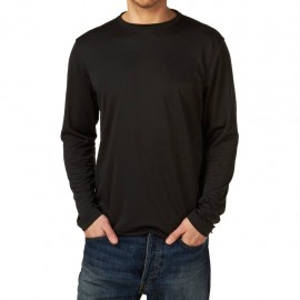 Top Henri Lloyd fast-dri, manches longues, carbone, Taille L