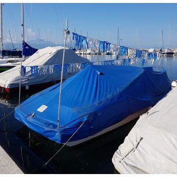 Banderole anti mouettes bleu/argent 15m