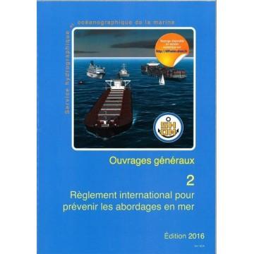 Règlement international pour prévenir les abordages en mer, SHOM 2