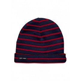 Bonnet Saint-James en laine et acrylique Cartier Navy/Tulipe, TU