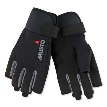Gants de voile Musto Essential doigts courts, Noir