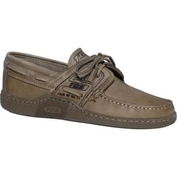 Chaussures bateau en cuir TBS Goniox Castor