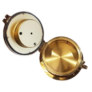 Hygromètre Thermomètre hublot en laiton Wempe