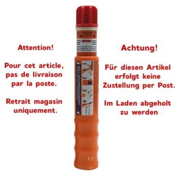 Torche de signalisation rouge