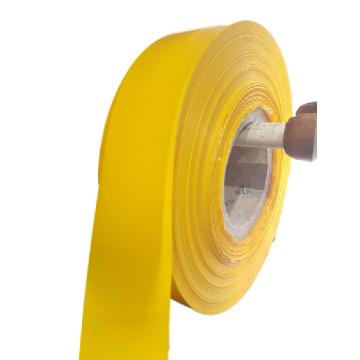 Bande plastique jaune anti-mouettes ou oiseaux