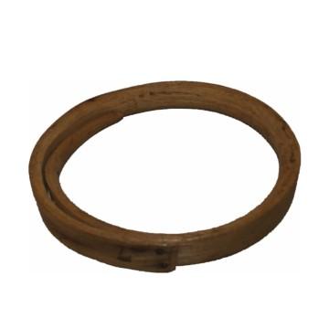 Anneau de gréement en bois d'acacia, ancien