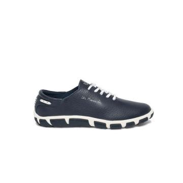 Chaussures en cuir TBS Jazaru bleu