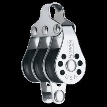 Harken 22mm Micro 3-fach Block / Hundsfott liegend