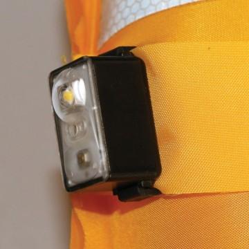Lampe LED Flash auto Lalizas pour gilet de sauvetage
