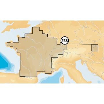 Carte Navionics Goldsmall SD Lacs Suisses + eaux intérieures francaises