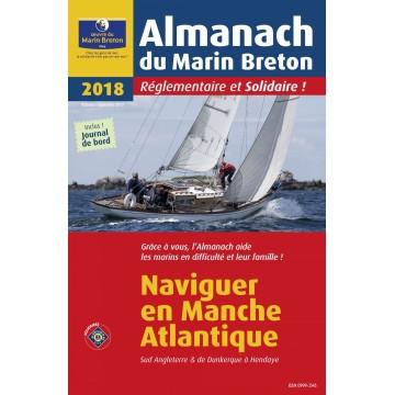 L'Almanach du Marin Breton 2018 - Naviguer en Manche et Altlantique