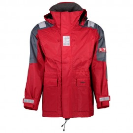 Lalizas Junior Inshore Jacket, rouge/gris