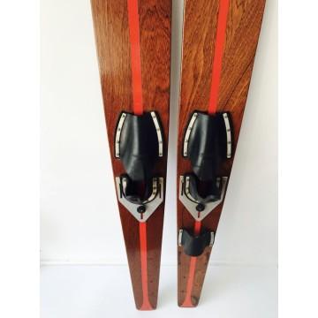 Fixation inox pour chausse de ski nautique