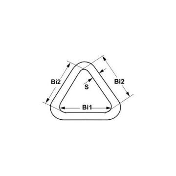 Triangle de voilier inox