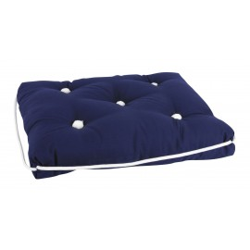 Coussin en Kapok simple 40x45x9cm bleu