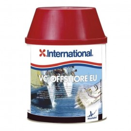 Antifouling VC Offshore International 0.75L. Disponible en rouge, noir, bleu ou blanc