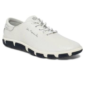 Chaussures en cuir TBS Jazaru blanc