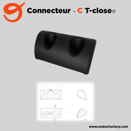 Connecteur T-close C