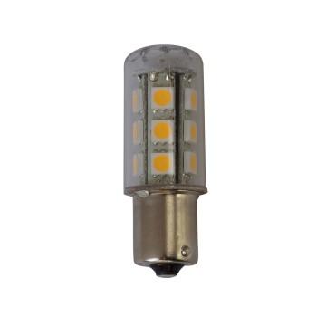 Ampoule LED, BA15s, 15LED, 10-30 V / 2.2 W