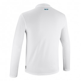 Quickdry Tshirt long blanc, taille