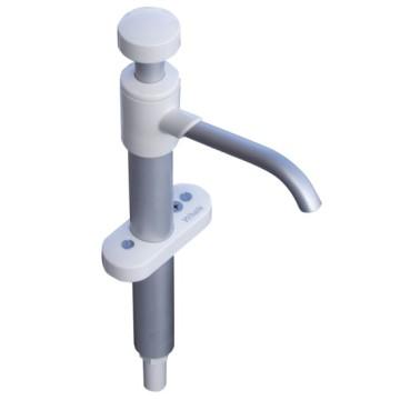 Pompe d'évier à main, verticale