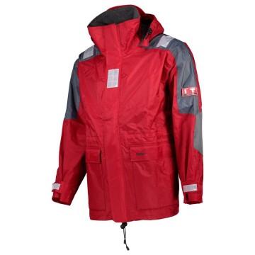 Lalizas Junior Inshore Jacket, rouge/gris