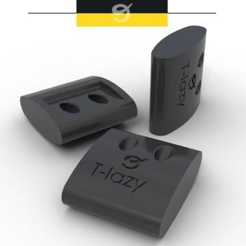 Pièce d'ajustement rapide réglable et autobloquante T-lazy Nodus Factory Ø3mm