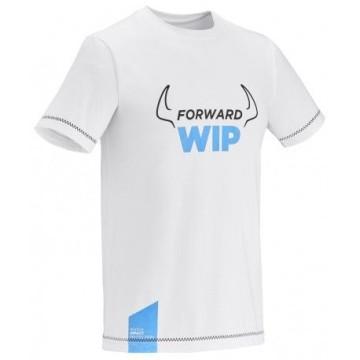 T-shirt WIP manches courtes blanc