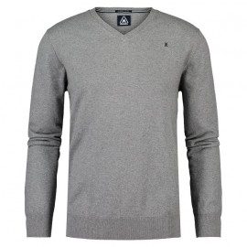 Pullover en coton, Gaastra, Homme, gris