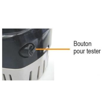 Pompe de cale automatique 12V Nuova Rade 600 Gph 2271L/h