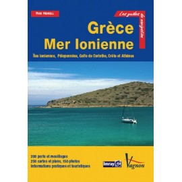 Guide Imray Vagnon, Grèce Mer Ionienne