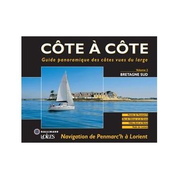Livre Côte à Côte, Vol.2 Bretagne Sud, de Penmarc'h à Lorient