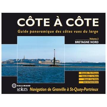 Livre Côte à Côte, Vol.3 Bretagne Nord de Granville à Saint-Quay-Portrieux