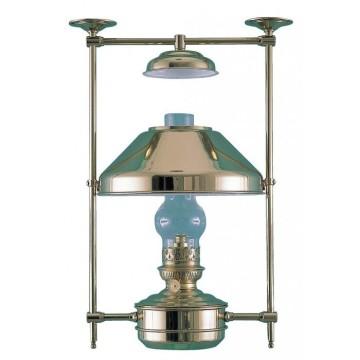 Lampe abat-jour en cuivre à pétrole Boatswain