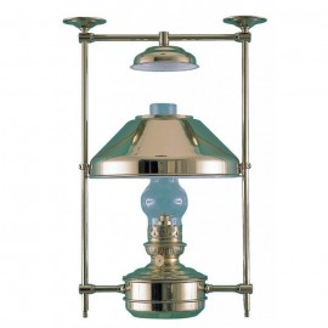 "Lampe ""Boatswain"" en cuivre, pétrole (grand modèle)"