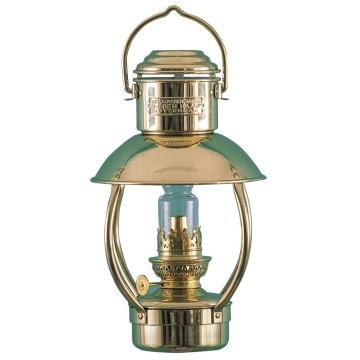 Lampe cabine en laiton, à pétrole ou électrique