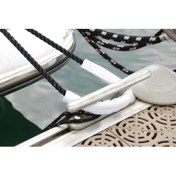 Protection anti-ragage pour amarres et aussières