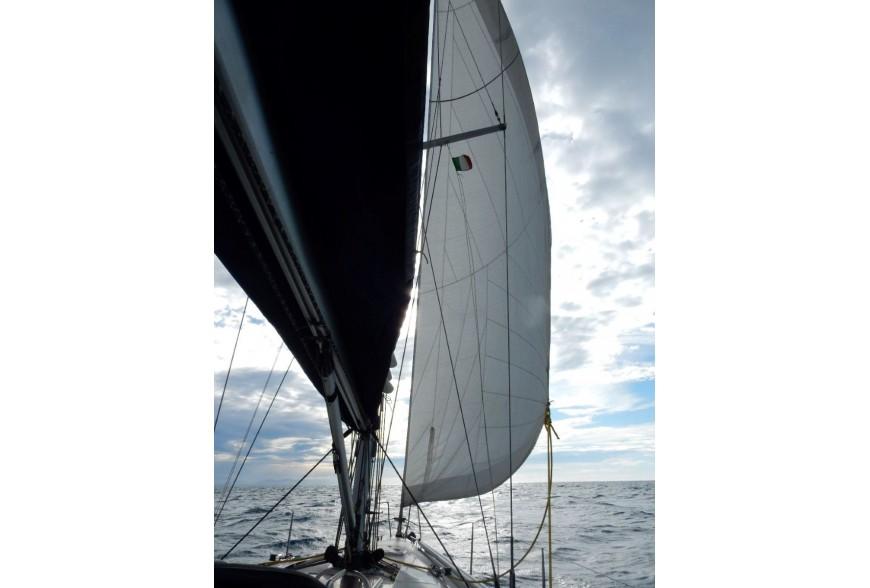 Avec le CCS, en bateau Daniel