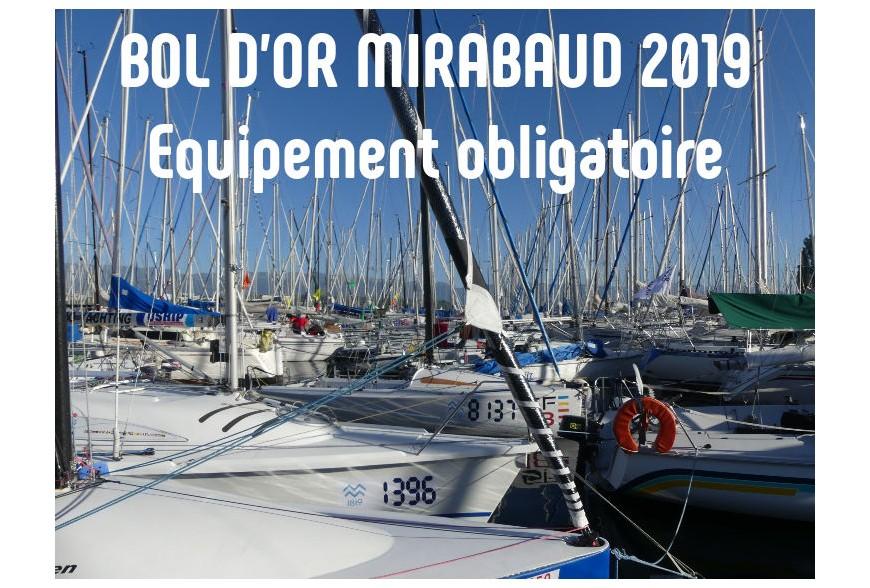 Bol d'Or Mirabaud 2019: Equipement obligatoire à bord