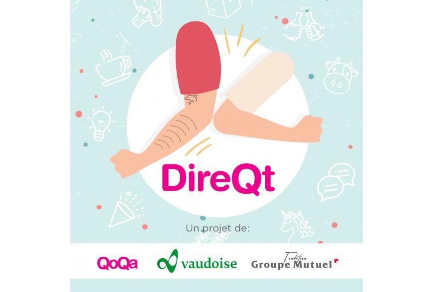 Serrons-nous les coudes: Retrouvez-Nous sur DireQt.ch
