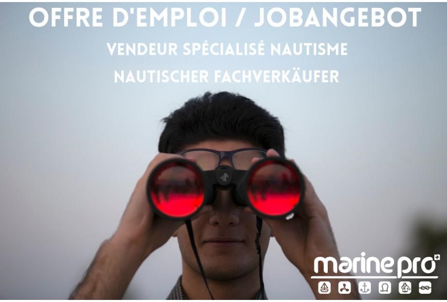 On recrute un vendeur! Jobangebot