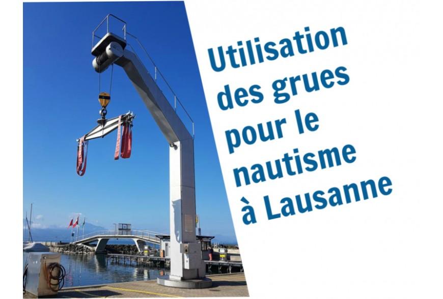 Informations concernant le grutage de bateau à Lausanne